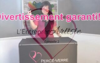 Websérie L'Entrepren'Artiste épisode 2