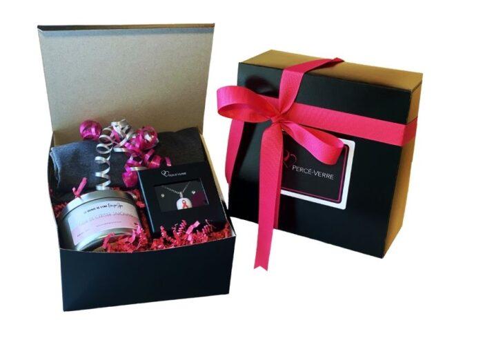 Boite cadeau soutien au cancer du sein