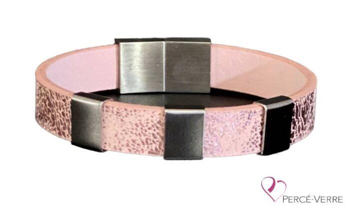 bracelet rose personnalisation-femme