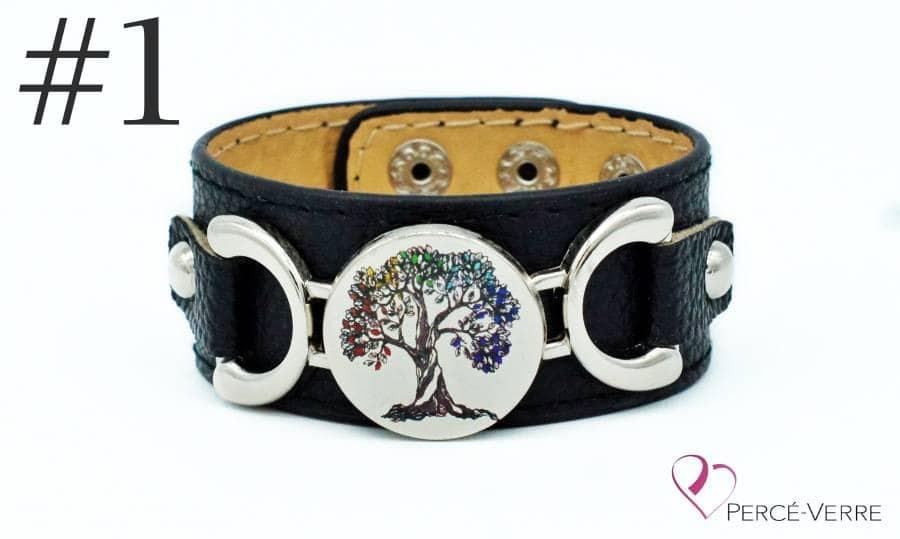 Bracelet personnalisé gratuit échantillon L'arbre de vie
