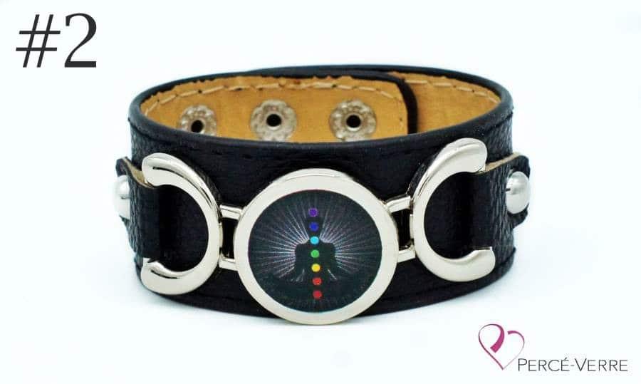 Bracelet personnalisé gratuit échantillon 7 chakras