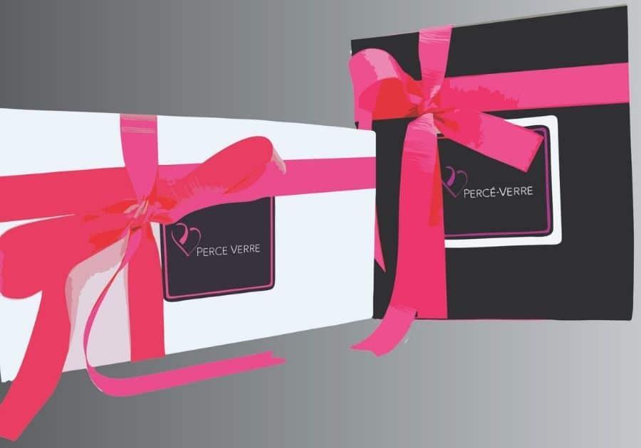 Boîtes-cadeaux Percé-Verre