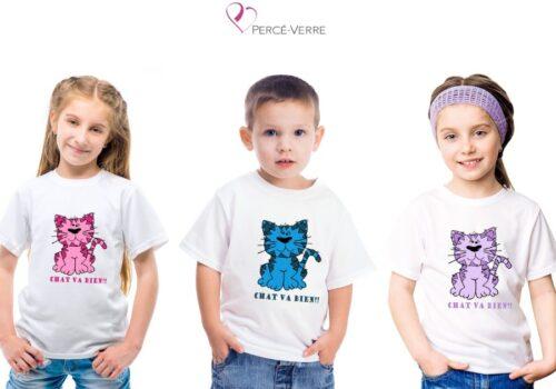 T-shirt Chat va bien!!